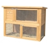 Rabbit Shack Flat Pack Single Hutch With Open Under Run