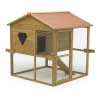 Rabbit Shack Flat Pack Pet House With Run