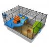 Rotastak Genus 100 Orange Hamster Cage