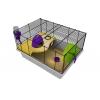 Rotastak Genus 100 Purple Hamster Cage