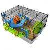 Rotastak Genus 200 Orange Hamster Cage