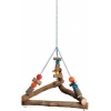 Hanging Triangular Welded Chain Swing Large