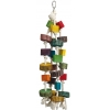 Cotton Rope, Colourful And Natural Blocks Hanging Toy Large