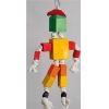 Hanging Colourful Blocks Robot