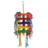 Colourful Blocks Hanging Toy With Colourful Rope Sisal