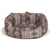 Fairisle Bracken Deluxe Slumber Bed 89cm (35